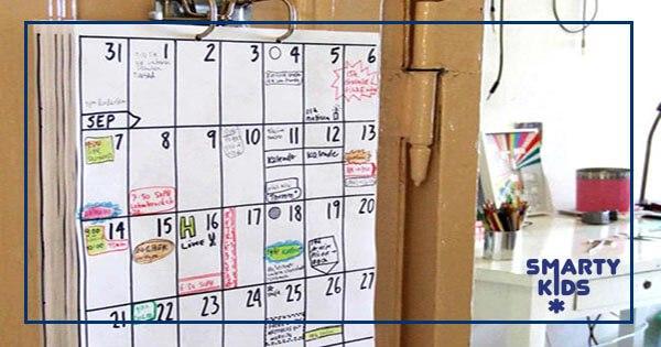 Учимся организовывать свое время. Календарь своими руками
