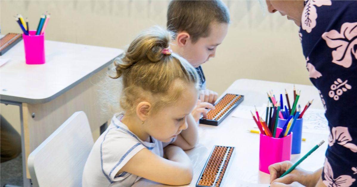 дети учат ментальную арифметику в Омске