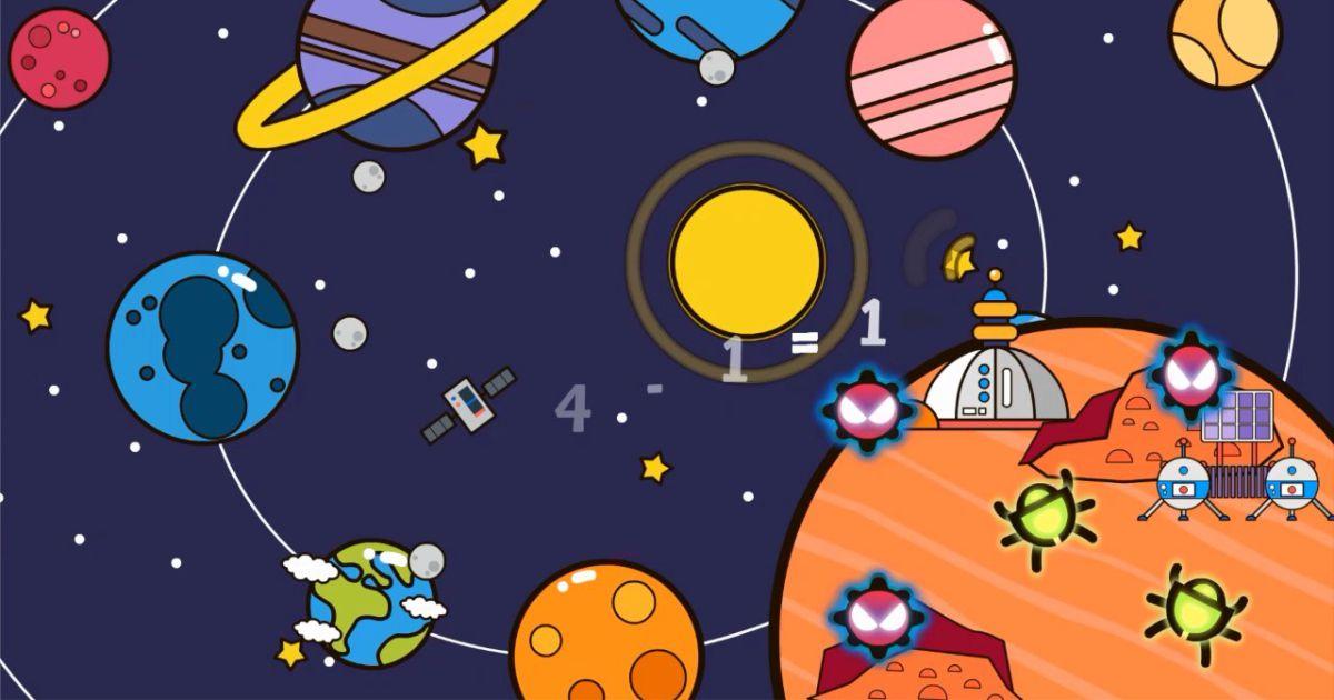 Эстетика космической геймификации в SmartyKids